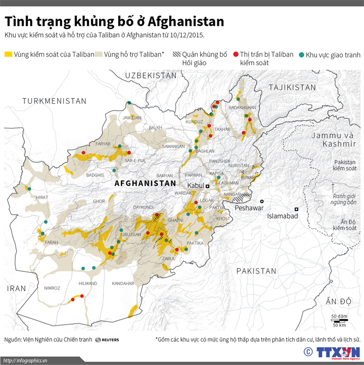 Tình trạng khủng bố ở Afghanistan
