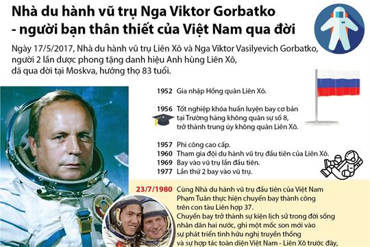 Nhà du hành vũ trụ Nga Viktor Gorbatko - người bạn thân thiết của Việt Nam qua đời