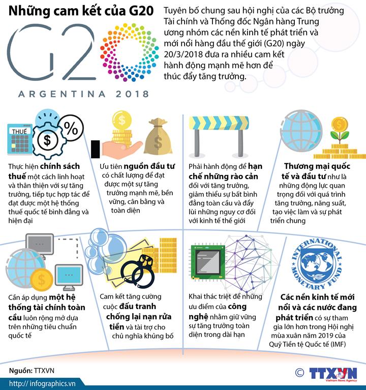 Những cam kết của G20