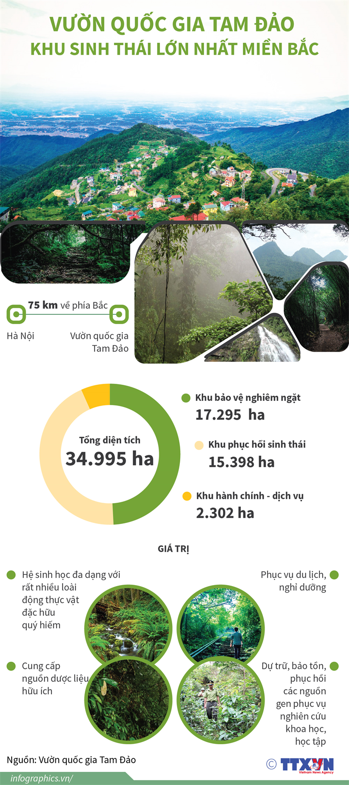 Vườn quốc gia Tam Đảo: Khu sinh thái lớn nhất miền Bắc