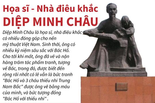 Họa sỹ - Nhà điêu khắc Diệp Minh Châu