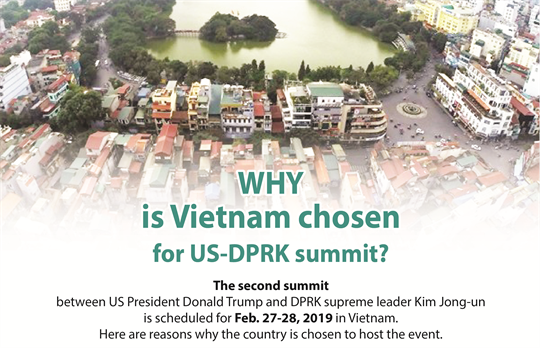Why Vietnam is chosen for US-DPRK summit
