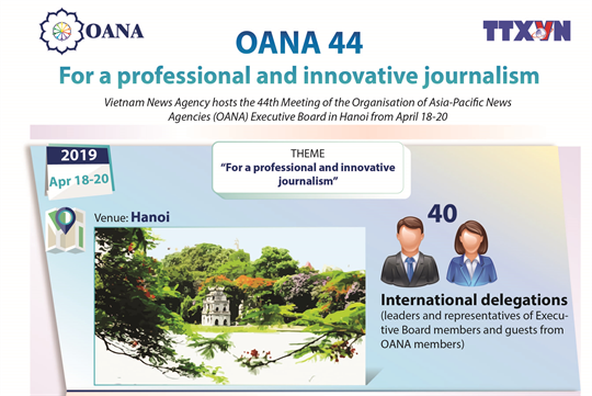 OANA 44:For a professional and innovative journalism