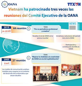 Vietnam organiza 44 reunión del Comité Ejecutivo de la OANA