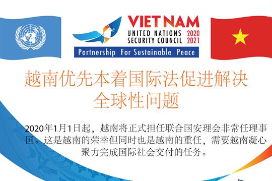 越南优先本着国际法促进解决全球性问题