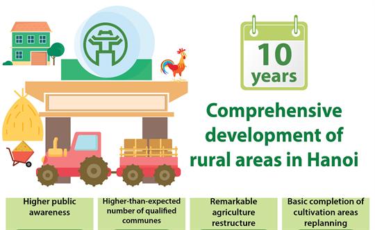 Comprehensive development of rural areas in Hanoi