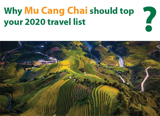 Why Mu Cang Chai should top your 2020 travel list