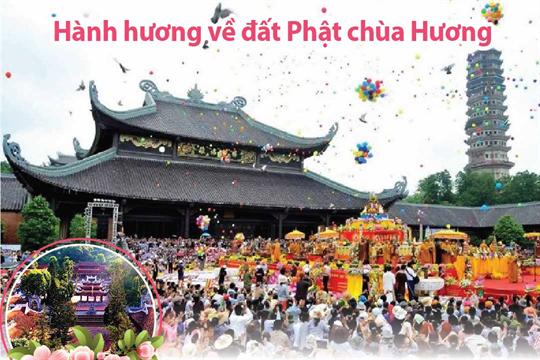 Hành hương về đất Phật chùa Hương