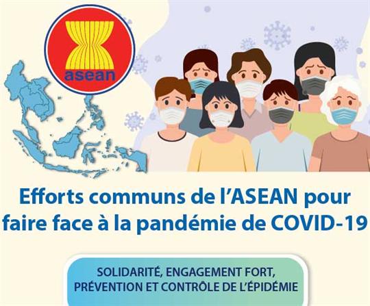 Efforts communs de l'ASEAN pour faire face à la pandémie de COVID-19