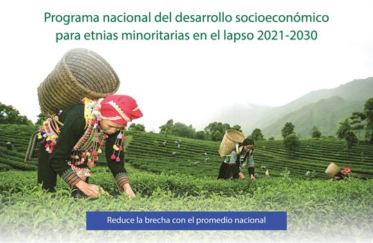Programa nacional para desarrollo en etnias minoritarias