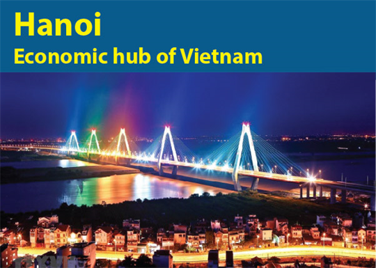 Hanoi: Economic hub of Vietnam