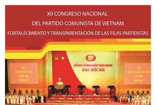 XII Congreso Nacional del Partido Comunista de Vietnam: Fortalecimiento y transparentación de filas partidistas