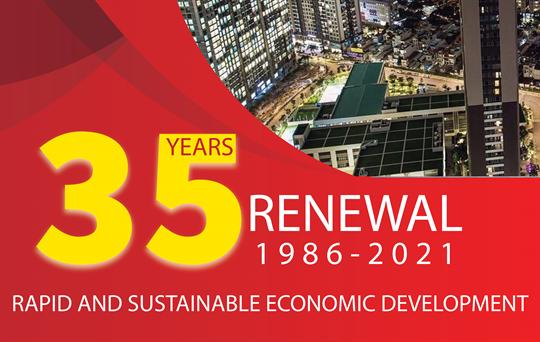 35 years of renewal process