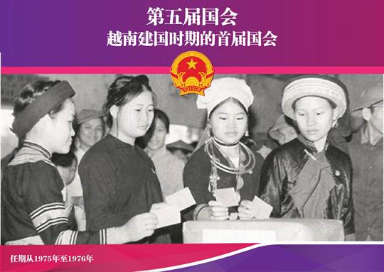 第五届国会:越南建国时期的首届国会