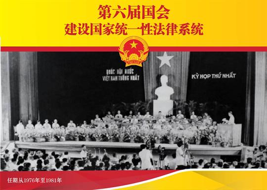 第六届国会:建设国家统一性法律系统