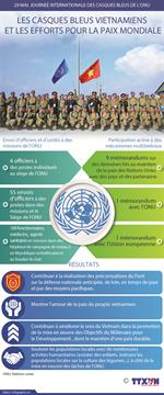Les casques bleus vietnamiens et les efforts pour la paix mondiale