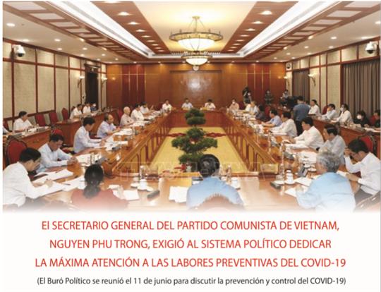 Instan a realizar el máximo empeño en lucha contra COVID-19 en Vietnam