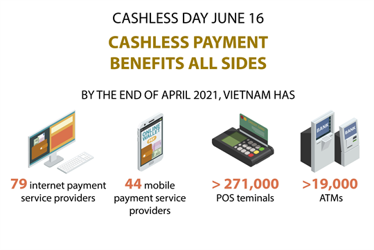 Cashless payment benefits all sides