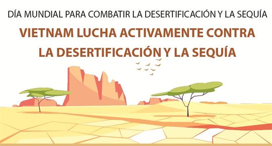 Vietnam lucha activamente contra la desertificación y la sequía