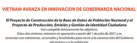 Vietnam avanza en innovación de gobernanza nacional