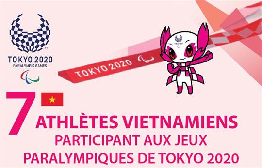 Sept athlètes vietnamiens participent aux Jeux paralympiques de Tokyo 2020
