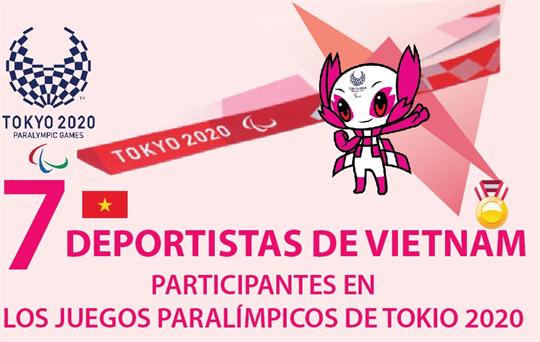 Vietnam con siete atletas en los Juegos Paralímpicos de Tokio 2020
