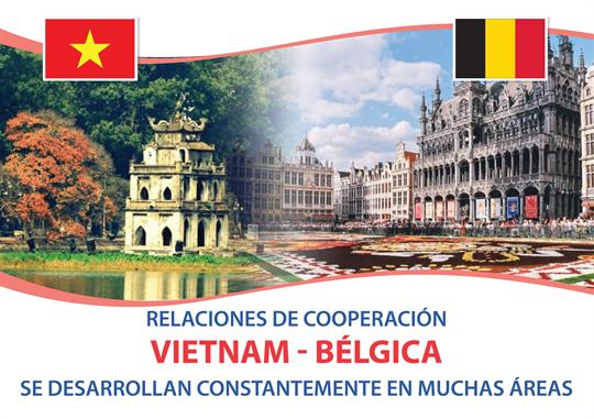 Relaciones Vietnam-Bélgica se desarrollan constantemente