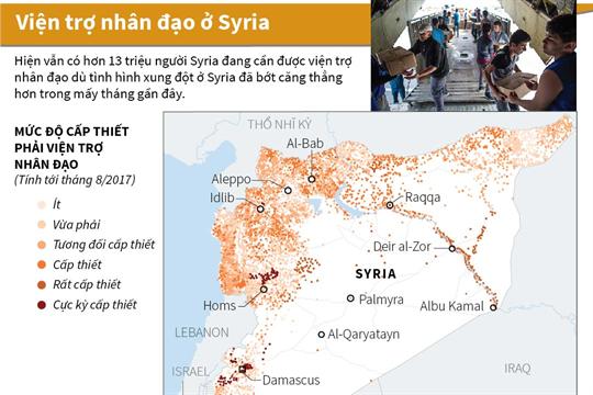 Viện trợ nhân đạo ở Syria