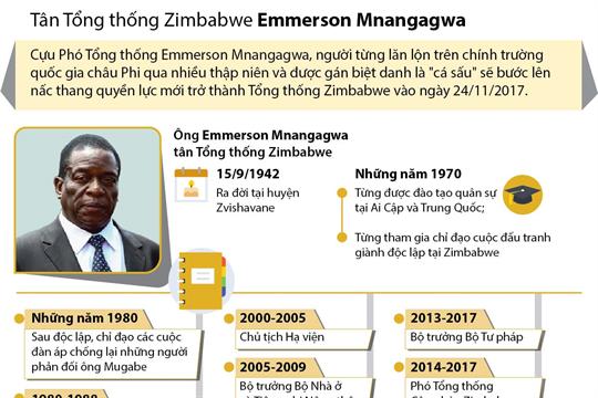 Tân Tổng thống Zimbabwe Emmerson Mnangagwa