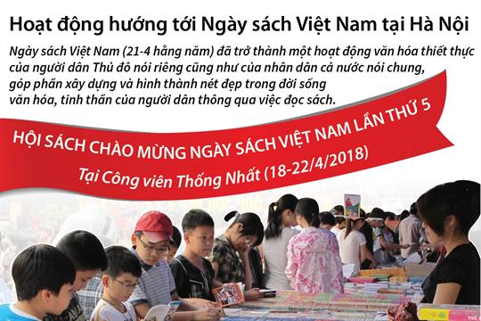 Hoạt động hướng tới Ngày sách Việt Nam tại Hà Nội