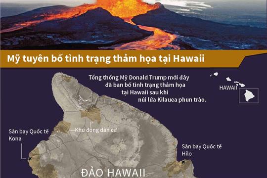 Mỹ tuyên bố tình trạng thảm họa tại Hawaii