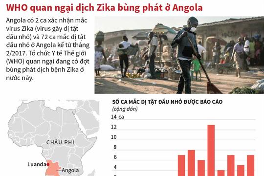 WHO quan ngại dịch Zika bùng phát ở Angola