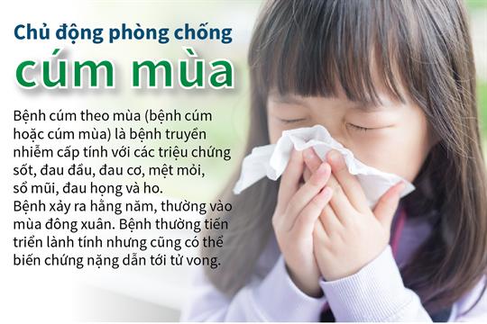 Chủ động phòng chống cúm mùa