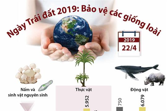 Ngày Trái đất 2019: Bảo vệ các giống loài