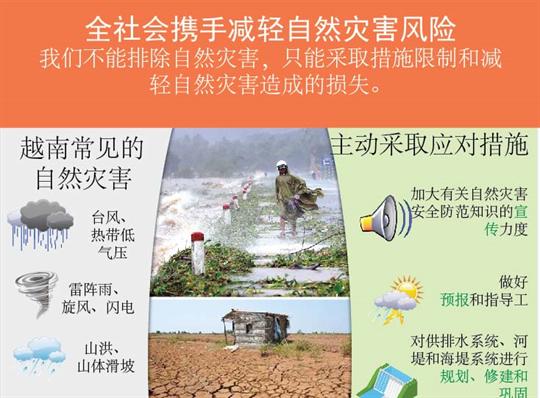 全社会携手减轻自然灾害风险