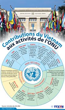 Contributions du Vietnam aux activités de l'ONU