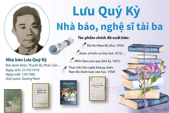 Lưu Quý Kỳ - Nhà báo, nghệ sĩ tài ba