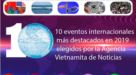 10 eventos internacionales más destacados en 2019 elegidos por la Agencia Vietnamita de Noticias