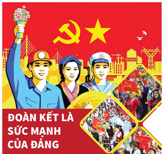 Đoàn kết là sức mạnh của Đảng