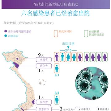 新冠肺炎疫情:在越南的六名患者已治愈出院