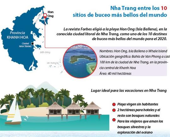 Nha Trang entre los 10 sitios de buceo más bellos del mundo