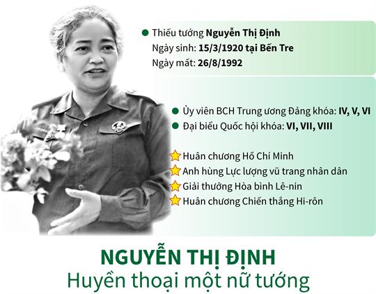 Nguyễn Thị Định - Huyền thoại một nữ tướng