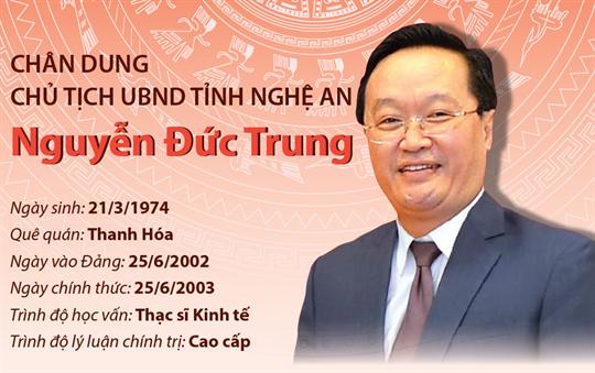 Chân dung Chủ tịch UBND tỉnh Nghệ An Nguyễn Đức Trung