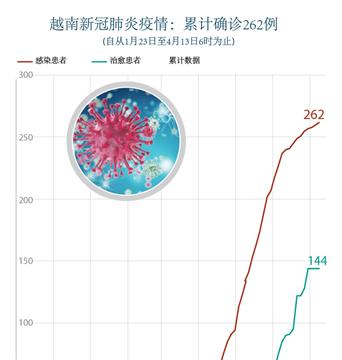 越南新冠肺炎疫情:累计确诊262例