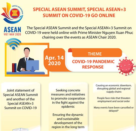 Special ASEAN Summit, Special ASEAN+3 Summit on COVID-19