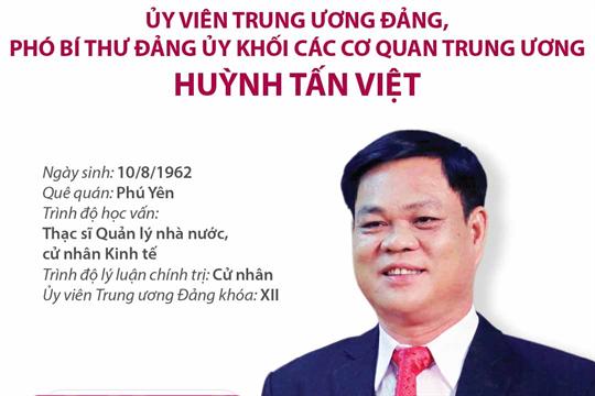 Ủy viên Trung ương Đảng, Phó Bí thư Đảng ủy Khối các cơ quan Trung ương Huỳnh Tấn Việt