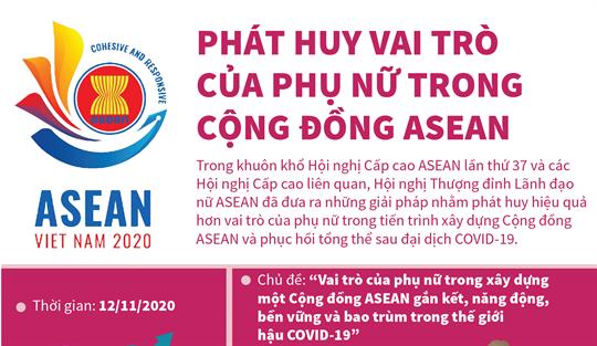 Phát huy vai trò của phụ nữ trong Cộng đồng ASEAN