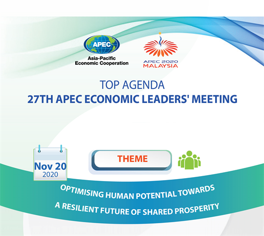 Top agenda of 27th APEC Economic Leaders' Meeting