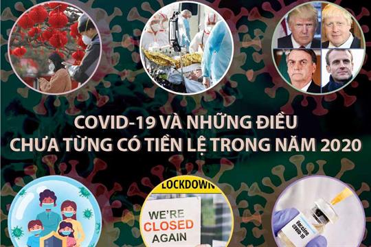 Năm 2020: COVID-19 và những điều chưa từng có tiền lệ