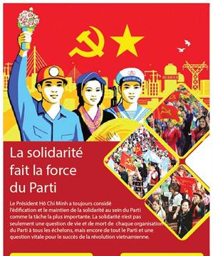 La solidarité fait la force du Parti